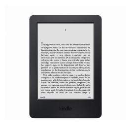 Kindle Paperwhite 6'', 4GB, E Ink, WiFi, Negro