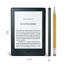 Kindle 6'', 4GB, E Ink Pearl, WiFi, Negro s
