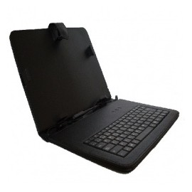 BRobotix Funda 102768 para Tablet 10, Negro