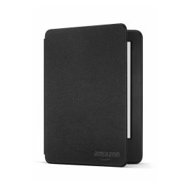 Amazon Funda de Cuero con Tapa para Kindle 6'', Negro