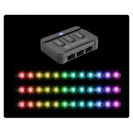 Thermaltake Kit Lumi Color 256C, LED RGB, 3 Tiras, 30cm