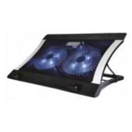 Naceb Base Enfriadora para Laptop, con 2 Ventiladores de 1200RPM, Negro