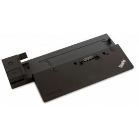Lenovo Docking ThinkPad 90W, 3x USB 2.0, 3x USB 3.0, RJ-45, VGA (D-Sub), Negro