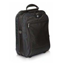 HP Maletín de Nilón Evolution Vertical Roller para Laptop 17, Negro