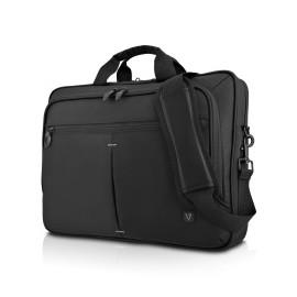 V7 Maletín de Nylon Urban Traveler para Laptop 15.6, Negro