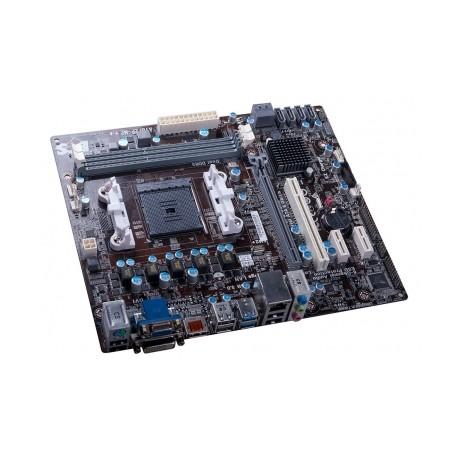 Tarjeta Madre ECS micro ATX A78F2P-M2, S-FM2+, AMD A78, HDMI, USB 3.0, 16GB DDR3, para AMD