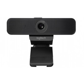 Logitech Webcam con Micrófono C925e, 1920 x 1080 Pixeles, USB 2.0, Negro