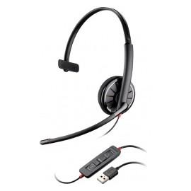 Plantronics Audífonos con Micrófono Blackwire Monoaural C310, Alámbrico, USB, Negro