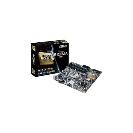 Tarjeta Madre ASUS micro ATX B150M-A/M.2, S-1151, Intel B150, USB 2.0/3.0, 64GB DDR4, para Intel