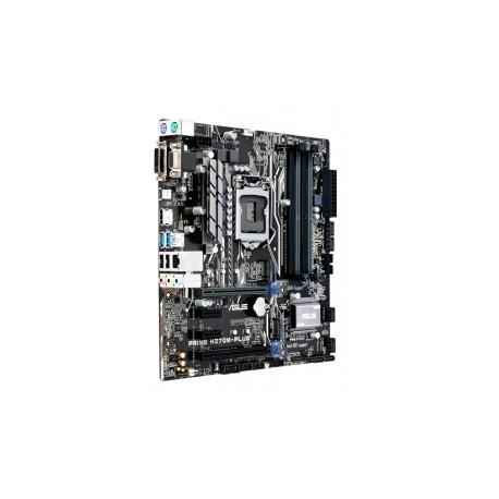 Tarjeta Madre ASUS micro ATX PRIME H270M-PLUS, Intel H270, HDMI, USB 3.0, 64GB DDR4 para Intel