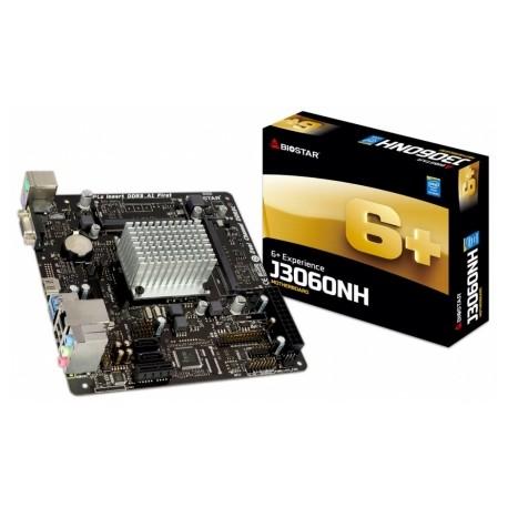 Tarjeta Madre Biostar mini ITX J3060NH, Intel Celeron J3060 Integrada, HDMI, USB 3.0, 16GB DDR3L