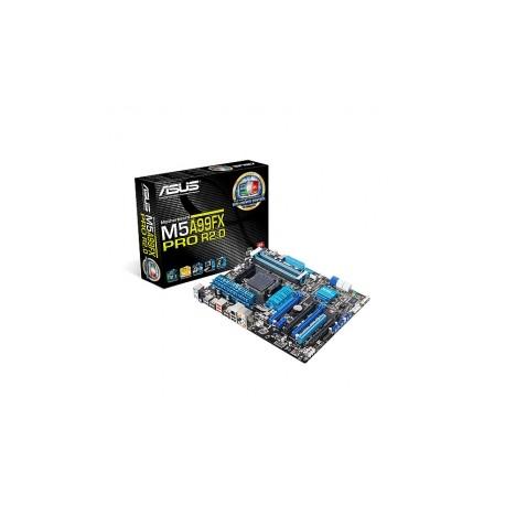 Tarjeta Madre ASUS ATX M5A99FX PRO R2.0, S-AM3, AMD 990FX, USB 2.0 3.0, 32GB DDR3, para AMD