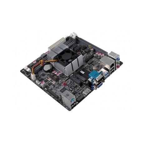 Tarjeta Madre ECS mini ITX KBN-I/5200, AMD Quad-Core A6-5200 Integrada, HDMI, USB 3.0, 32GB DDR3