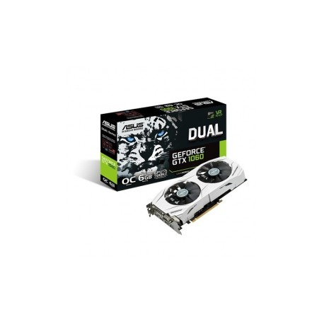 Tarjeta de Video ASUS NVIDIA GeForce GTX 1060 Dual OC, 6GB 192-bit GDDR5, PCI Express 3.0