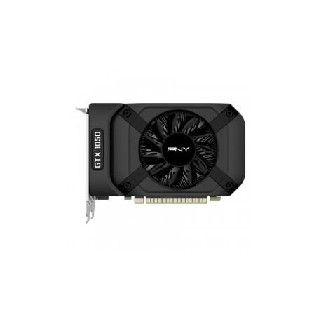 Tarjeta de Video PNY NVIDIA GeForce GTX 1050, 2GB 128-bit GDDR5, PCI Express x16 3.0