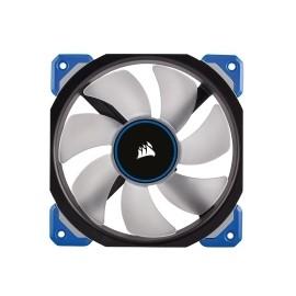 Ventilador Corsair Air ML120 PRO LED Azul de Levitación Magnética, 120mm, 400-2400RPM, Negro