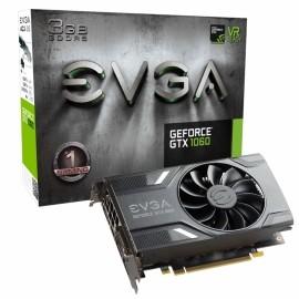 Tarjeta de Video EVGA NVIDIA GeForce GTX 1060, 3GB 192-bit GDDR5, PCI Express x16 3.0