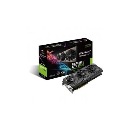 Tarjeta de Video ASUS NVIDIA GeForce GTX 1080 ROG Strix OC, 8GB 256-bit GDDR5X, PCI Express 3.0