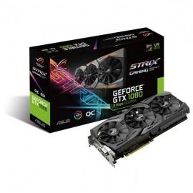 Tarjeta de Video ASUS NVIDIA GeForce GTX 1080 ROG Strix, 8GB 256-bit GDDR5X, PCI Express 3.0