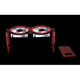 G.Skill Enfriador de 2 Ventiladores para Memoria RAM Turbulence III, 50mm, 3500RPM, Negro
