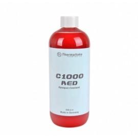 Thermaltake Líquido Anticongelante Opaco C1000 de Color Rojo, 1000ml