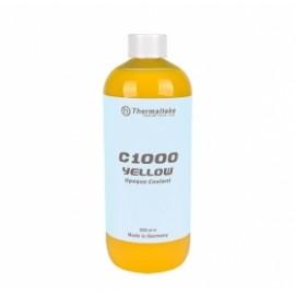 Thermaltake Líquido Anticongelante Opaco C1000 de Color Amarillo, 1000ml