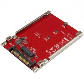 StarTech.com Tarjeta PCI Express M.2 a U.2, para SSD NVMe M.2