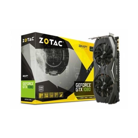 Tarjeta de Video ZOTAC NVIDIA GeForce GTX 1080 AMP Edition, 8GB 256-bit GDDR5X, PCI Express 3.0