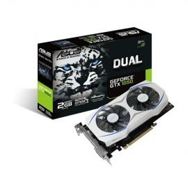 Tarjeta de Video Asus NVIDIA GeForce GTX 1050 Dual, 2GB 128-Bit GDDR5, PCI Express 3.0
