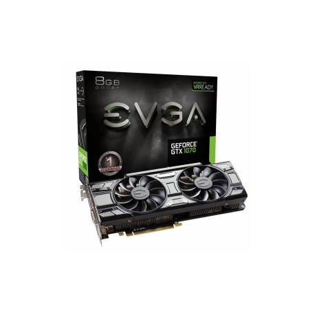 Tarjeta de Video EVGA NVIDIA GeForce GTX 1070, 8GB 256-bit GDDR5, PCI Express 3.0