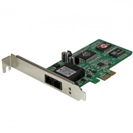 StarTech.com Tarjeta de Red Ethernet PCI Express de Fibra SC Multimodo, 550m