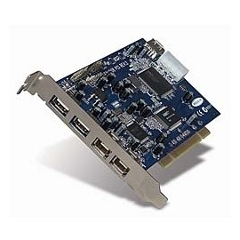 Belkin Tarjeta PCI Hi-Speed USB 2.0 y FireWire