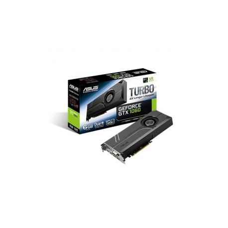 Tarjeta de Video ASUS NVIDIA GeForce GTX 1060 Turbo, 6GB 192-bit GDDR5, PCI Express 3.0