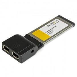 StarTech.com Ethernet ExpressCard EC13942A2, Alámbrico, 400 Mbit