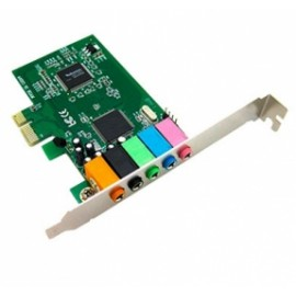 BRobotix Tarjeta de Sonido 008738, 5.1, PCI