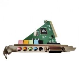 BRobotix Tarjeta de Sonido 942033, 6.1, PCI