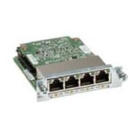 Cisco Tarjeta de Interfaz Switch 4 Puertos Gigabit Ethernet