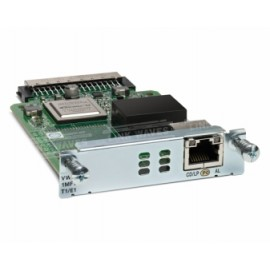 Cisco Tarjeta de Interfaz WAN de Voz Troncales Multiflex T1 E1 de 1 Puerto de Tercera Generación