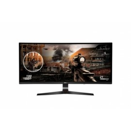 Monitor Gamer Curvo LG 34UC79G-B LED 34, FullHD, UltraWide, HDMI, Negro Rojo