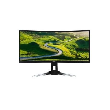 Monitor Gamer Curvo Acer Predator XZ350CU LED 35, FullHD, UltraWide, HDMI, Bocinas Integradas (2 x 8W), Negro Plata
