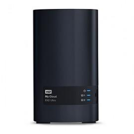 Western Digital My Cloud EX2 Ultra NAS de 2 Bahías Hot Swap, 0TB, max. 16TB, USB 3.0
