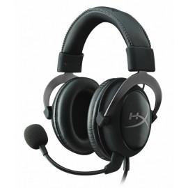 Kingston Audífonos Gamer HyperX Cloud II Gun Metal Surround 7.1, Alámbrico, 1 Metro 2 Metros de Extensión, 3.5mm, Negro