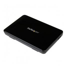 StarTech.com Gabinete de Disco Duro S2510BPU33, SATA III, USB 3.0, Negro