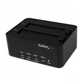 StarTech.com Estación de Conexión Duplicador USB 3.0 de Discos Duros