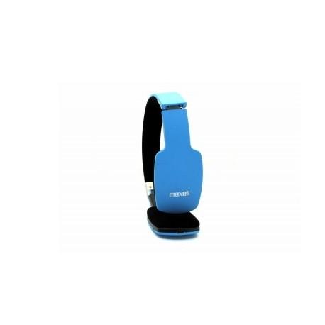 Maxell Audífonos BT-1000, Bluetooth, Inalámbrico, 1.2 Metros, Azul