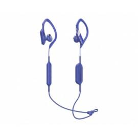 Panasonic Audífonos Intrauriculares Deportivos con Micrófono RP-BTS10-W, Inalámbrico, Bluetooth 4.1, Azul
