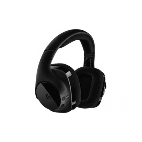 Logitech Audífonos Gamer G533 7.1, Inalámbrico, USB, Negro