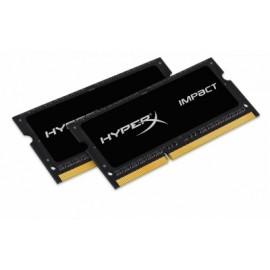 Kit Memoria RAM Kingston HyperX Impact Black DDR3L, 1600MHz, 16GB (2 x 8GB), CL9, SO-DIMM, 1.35v