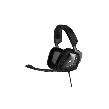 Corsair Audífonos Gamer VOID USB Dolby 7.1 RGB, Alámbrico