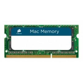 Memoria RAM Corsair DDR3, 1333MHz, 8GB, CL9, Non-ECC, SO-DIMM, para Apple MacBook, iMac y Mac Mini